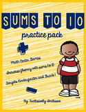 Sums to 10 Practice Pack