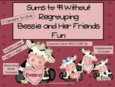 Sums to 99 Without Regrouping Bessie and Her Friends Fun (