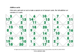 Sumsort mathematics game: PACK ONE FOR ADDITION AND SUBTRACTION