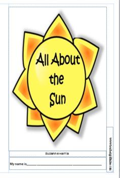 Sun Activities & Stories Integrating Science, Reading, Laguage Arts and Grammar