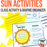 Sun Activities for Language Arts or Science Unit