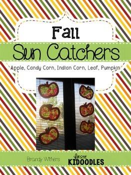 Fall Sun Catchers Window Craft