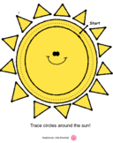 Sun Circle Tracer - crossing Midline / Brain Gym