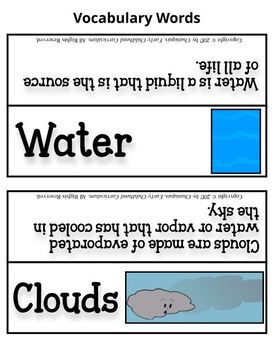 Sun, Clouds, and Water (Thematic Unit 17)