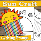 Sun Craft | Weather Craft with Writing Prompt for Science