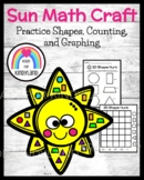 Sun Craft and Math Activity: Shapes, Counting, and Graphin