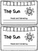 Sun Craft with Writing Prompt : Weather Activities : Sprin