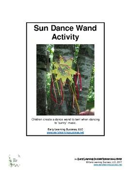 Sun Dance Wand