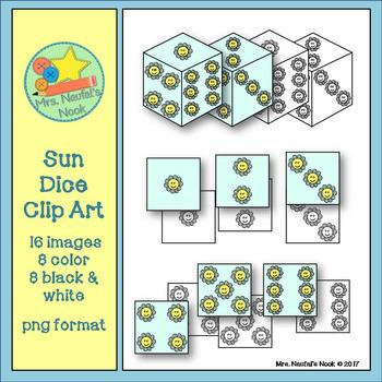 Dice Clip Art - Sun