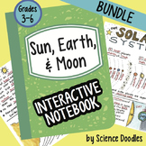 Sun, Earth, Moon INB BUNDLE by Science Doodles