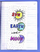 Sun, Earth, Moon Interactive Notebook Foldable with KEY by Science Doodles