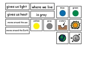 Sun Earth Moon Sort