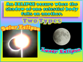 Sun-Earth-Moon System: Solar and Lunar Eclipses