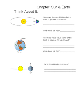 Sun & Earth Packet