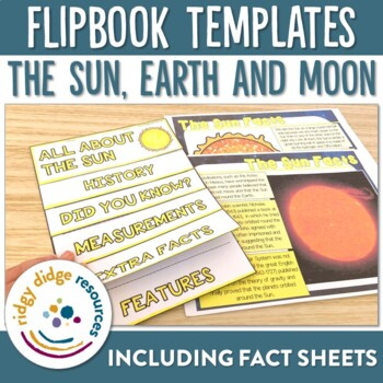 Sun, Earth and Moon Flipbooks and Information Sheets