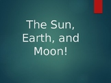 Sun, Earth, and Moon Jeopardy Game