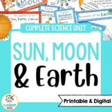 Sun, Earth, and Moon | Google Classroom Compatible | Distance Learning