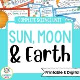 Sun, Earth, and Moon   Google Classroom Compatible   Dista