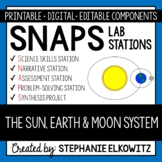 Sun, Earth and Moon System Lab Stations Activity