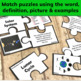 Sun, Earth, and Moon Vocabulary Puzzle Activity