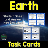 Earth Task Cards - Distance Learning Compatible