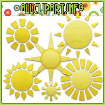 Sun Elements Clip Art
