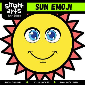 Sun Emoji Clip Art