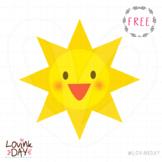 Sun - FREE clip art