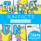 Sun Facts Banner {Bunting, Garland, Pennant Display}