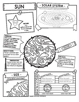 Sun Facts and Activities