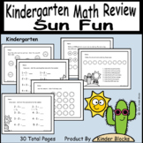 Sun Fun Math Review For Any Time Of The Year!