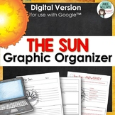 Sun  - Digital Graphic Organizer for use with Google