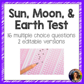Sun-Moon-Earth Test- 2 versions