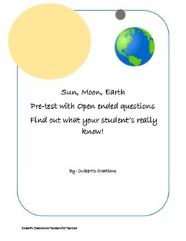 Sun Moon Earth Pre-Test