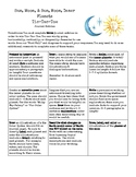 Sun, Moon, Inner Planet  Tic-Tac-Toe Project