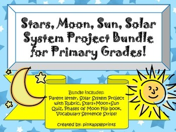 Solar System Project Bundle: Stars, Moon, Sun, Planets Mod