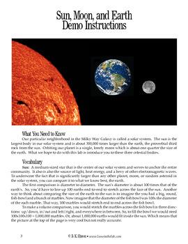 Sun, Moon, and Earth (Astronomy)