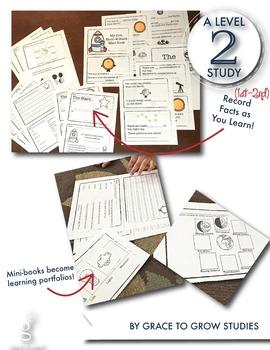Sun, Moon, and Stars Mini Book and Unit (1st-2nd grades)