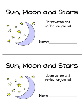 Sun, Moon and Stars Observation Journal