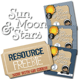 Sun, Moon, and Stars Unit Study Resources Page