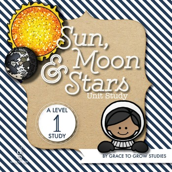 Sun, Moon, and Stars Printables and Puzzles (PreK-K)