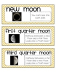 Sun, Moon, and Stars Vocabulary Bundle