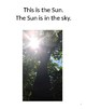 Sun, Moon and Stars a First Grade Solar Eclipse book