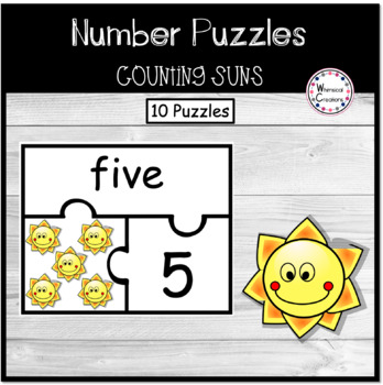 Sun Number Puzzles (1-10)
