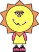 Sun People Clip Art