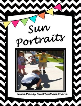 Sun Portraits Art Lesson Plan by Sweet Southern Charm