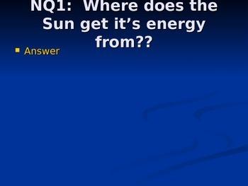 Sun Powerpoint Notes