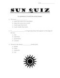 Sun Quiz
