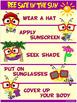 "Sun Safe Poster: ""Bee Safe in the Sun""!"
