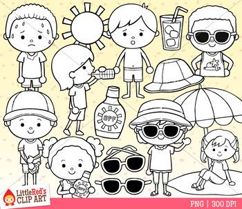 Sun Safety Clip Art